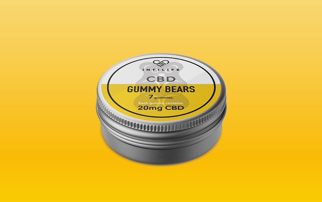 CBD Gummy Single Tin Infilife